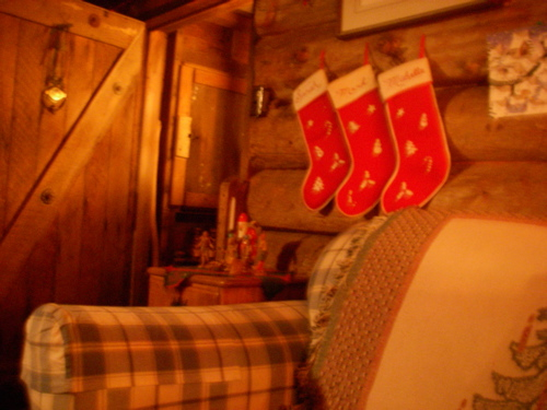 The Zeiger Homestead at Christmas