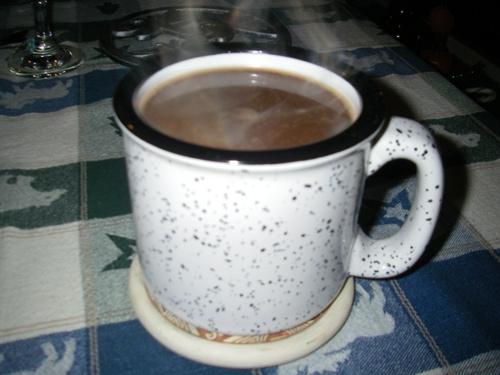 coffee mug shot