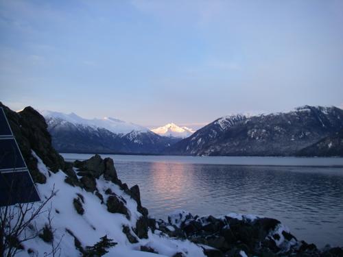 Katzehin Delta, near Haines, Alaska