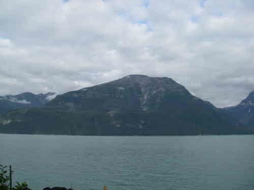 Mountain on Lynn Canal, Alaska