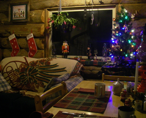 Cabin living room 2011