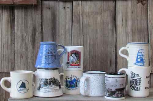 My favorite mugs (Photo: Mark A. Zeiger).