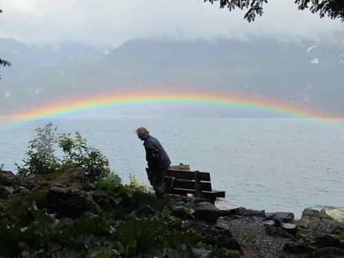 """Low bow"" on Lynn Canal, Alaska (Photo: Mark A. Zeiger)."