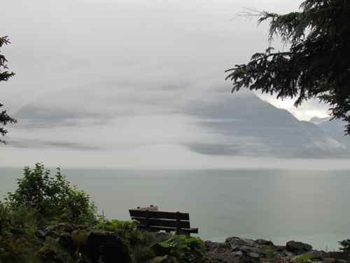 Morning mountain mist (Photo: Mark A. Zeiger).