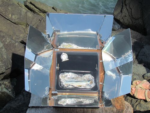 Baked fish a la soleil (Photo: Mark A. Zeiger).