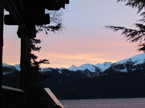 Sunrise reflection (Photo: Mark A. Zeiger).