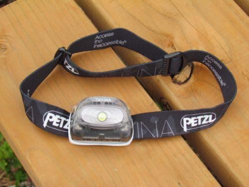 Petzl Tikkina headlamp