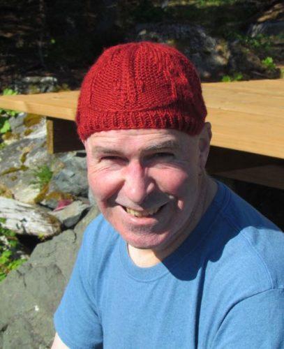 trilobite knit cap, Hannah Ingalls Mason