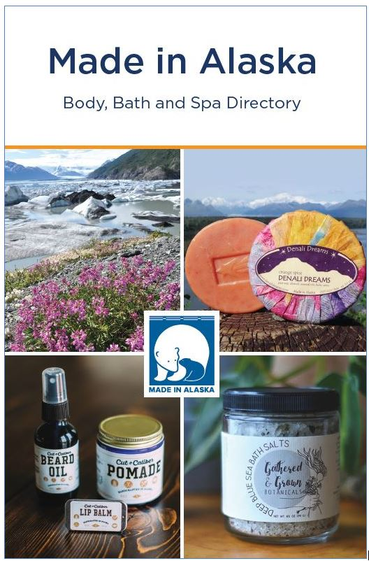 Cover, Made in Alaska Body, Bath and Spa Directory