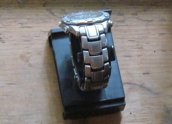solar watch recharging