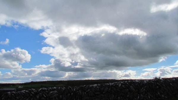 Burren sky, Ireland