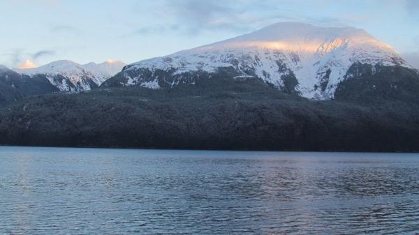 Sun on the Coast Range, Alaska